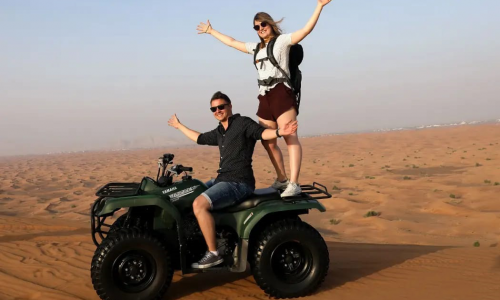 desert safari with atv + vip